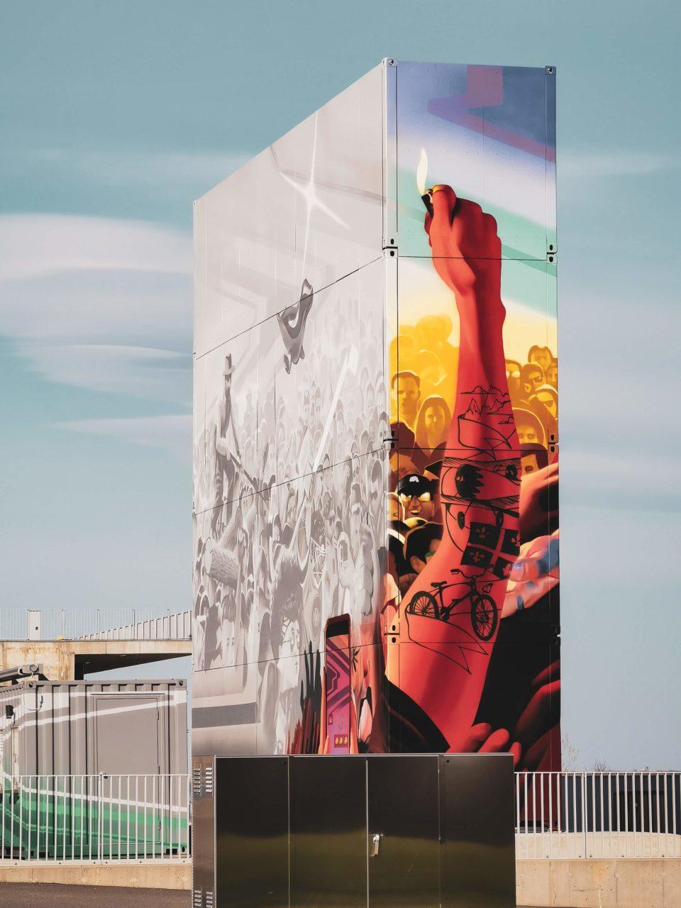 Graffitis-Amphitheatre-cogeco