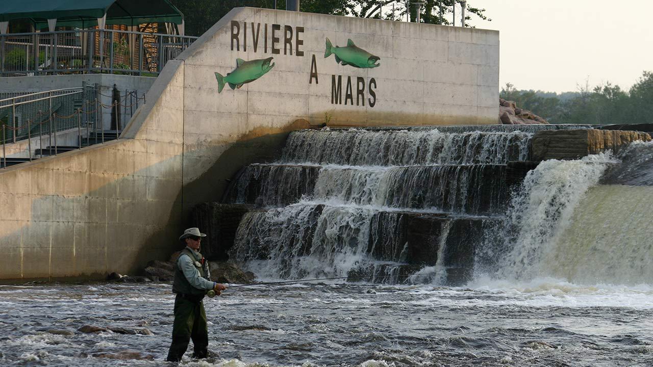 Pêche: Rivière-à-Mars