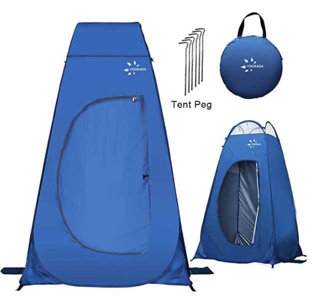 sac toilette camping