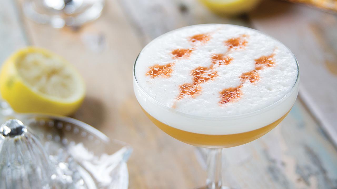 L'Amaretto Sour réinventé à la liqueur d'érable