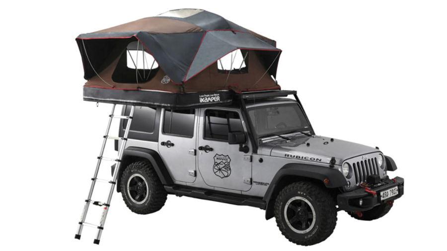 Tente pour camper sur le toit de sa voiture