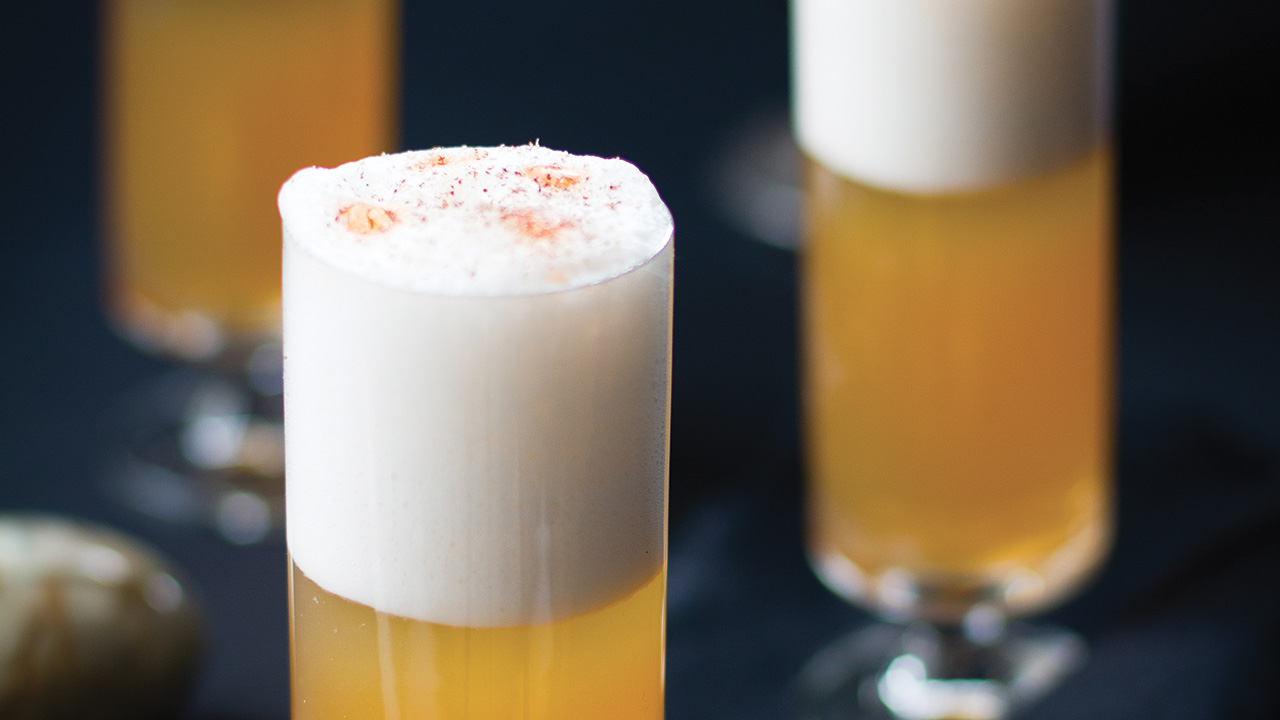 Une recette de Whisky Sour québécois style cabane à sucre