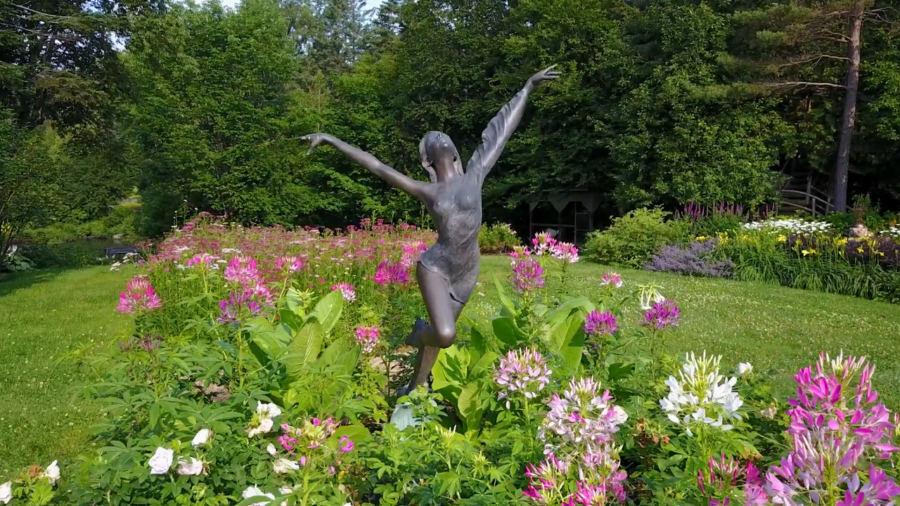 Un magnifique jardin dans les Laurentides qui appuie la Société d'Alzheimer