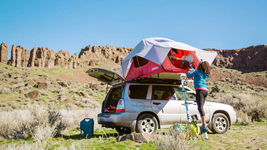 camping tente voiture