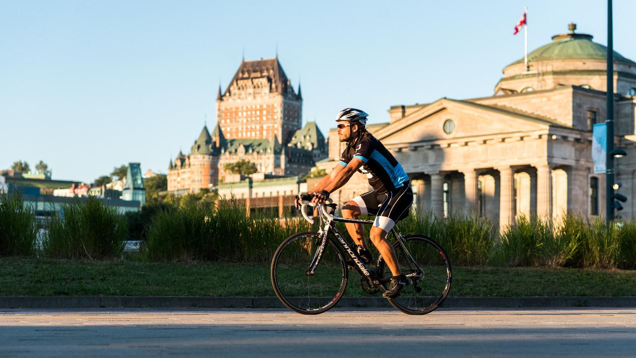 Séjour vélo à rabais à Québec subventionné par le gouvernement