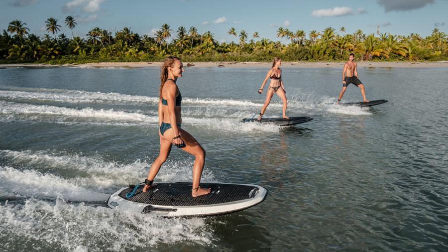 planche de surf electrique