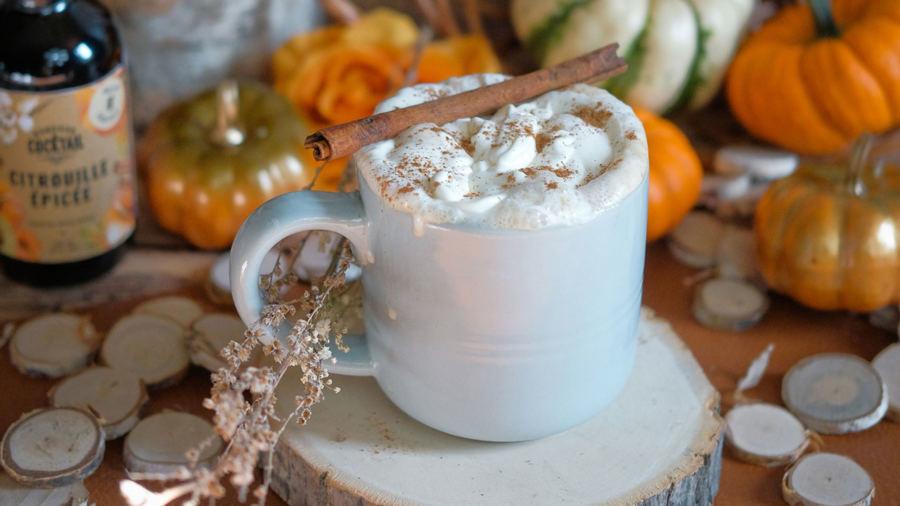 La meilleure recette de « pumpkin spice latte » à siroter cet automne