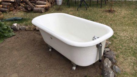Transformez votre cour avec un bain