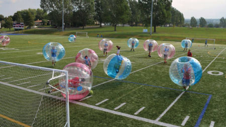 Le sport COVID « proof » par excellence c'est le Bubble Football