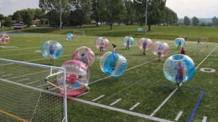 Le sport COVID « proof » par excellence c'est le Bubble Football