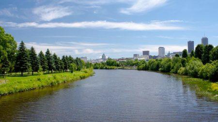 courir au parc linéaire de la riviere st-charles