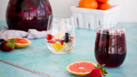 Une recette simple pour une sangria savoureuse